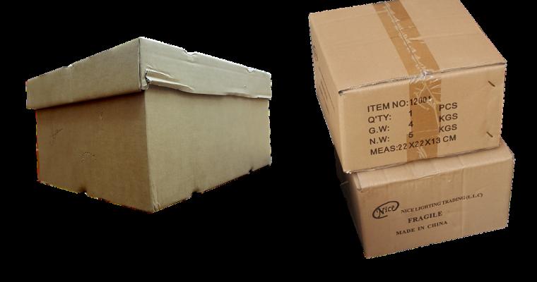 Le carton est primordial pour votre déménagement
