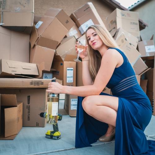 Déménager avec l'aide d'une entreprise de déménagement, que du bonheur!